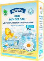 Соль для ванн детская Babyline С ромашкой DN85 (500г) -