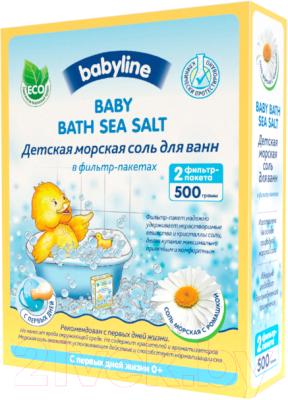 Соль для ванн детская Babyline С ромашкой DN85 недорого