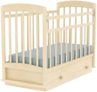 Детская кроватка VDK Selia маятник-ящик (береза снежная) -