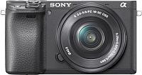 Беззеркальный фотоаппарат Sony a6400 + объектив SEL1650 / ILCE-6400LB -