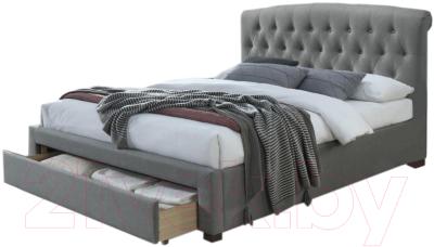Двуспальная кровать Halmar Avanti 160x200