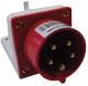 Вилка силовая TDM SQ0605-0013 -