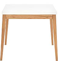 Обеденный стол Halmar Trump (белый/дуб крафт) -