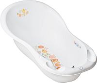 Ванночка детская Tega Фольклор / FL-005-103 (белый) -