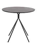 Обеденный стол Halmar Fondi (черный матовый) -