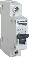 Выключатель автоматический Generica ВА 47-29 1Р 40А 4.5кА / MVA25-1-040-C -