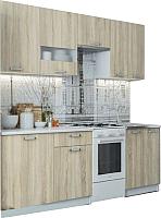 Готовая кухня SV-мебель Розалия 1.7 (белый/дуб сонома) -