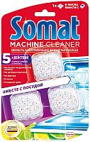 Средство для чистки посудомоечных машин Somat Machine Cleaner (3x20г) -