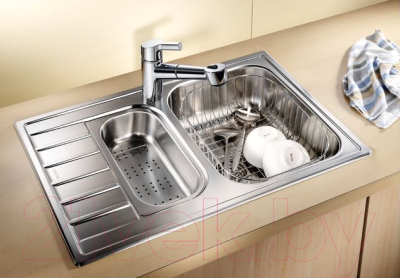 Мойка кухонная Blanco Livit 6 S Compact / 515117
