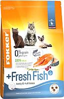 Корм для кошек Fokker +Fresh Fish / 4607 (7кг) -