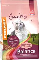 Корм для кошек Fokker Balance Meat & Fish / 2710 (10кг) -