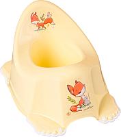 Детский горшок Tega Лесная сказка / FF-001-109 (светло-желтый) -