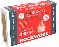 Плита теплоизоляционная Rockwool Флоор Баттс 1000x600x25 (упаковка) -