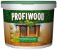 Защитно-декоративный состав Profiwood Антисептик-лазурь (2.5л, белый) -