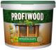 Защитно-декоративный состав Profiwood Антисептик-лазурь (2.5л, тиковое дерево) -