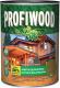 Защитно-декоративный состав Profiwood Для древесины (2.5л, тик) -