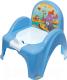 Детский горшок Tega Сафари / SF-010-126 (синий) -