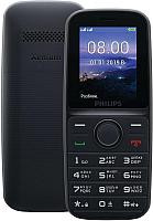 Мобильный телефон Philips Xenium E109 (черный) -