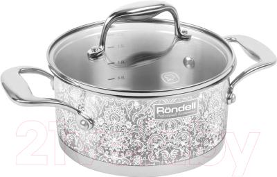 Фото - Кастрюля Rondell RDS-1054 кастрюля 2 1 л rondell marmara rds 997