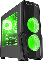 Корпус для компьютера GENESIS Titan 800 Green Midi / NPC-1130 -