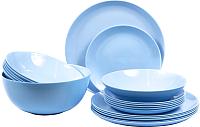 Набор столовой посуды Luminarc Diwali Light Blue P2961 -