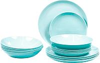 Набор столовой посуды Luminarc Diwali Light Turquoise P2963 -