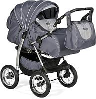 Детская универсальная коляска INDIGO Maximo (Ma 12, темно-графитовый/графитовый) -