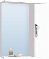 Шкаф с зеркалом для ванной Vako Ника 70 / 13240 -