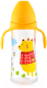 Бутылочка для кормления Happy Care Sweet baby / 47611 (330мл, желтый) -