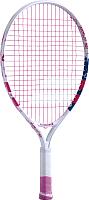 Теннисная ракетка Babolat B'FLY Gr000 5-7лет / 140243 (белый/розовый/синий) -