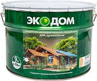 Защитно-декоративный состав Экодом Сосна (9л) -