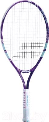 Теннисная ракетка Babolat B'FLY 23 Gr000 7-9лет / 140244 (фиолетовый/бирюзовый)