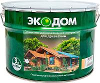 Защитно-декоративный состав Экодом Орех (9л) -