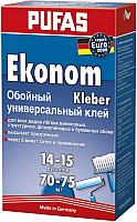 Клей для обоев Pufas Эконом Euro 3000 универсальный (500г) -