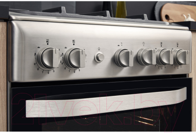 Плита газовая Hotpoint-Ariston HS5G0PMX/R