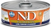 Корм для кошек Farmina N&D Grain Free Pumpkin Lamb & Blueberry (80г) -
