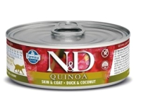 Корм для кошек Farmina N&D Grain Free Quinoa Duck & Coconut (80г) -