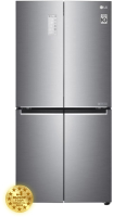 Холодильник с морозильником LG DoorCоoling+ GC-B22FTMPL -