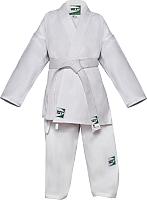 Кимоно для карате Green Hill Junior KSJ-10054 (р.4/170, белый) -