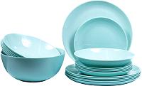 Набор столовой посуды Luminarc Diwali Light Turquoise P2947 -