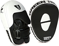 Боксерская лапа Green Hill FM-5252 (черный/белый) -
