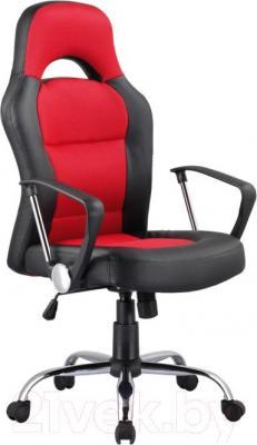 Кресло офисное Signal Q-033 (черно-красный) - общий вид