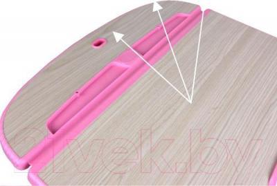 Парта+стул Sundays C302 (розовый) - столешница не отражает свет