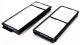 Комплект салонных фильтров Hengst E2970LI-2 -