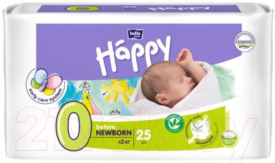 Подгузники детские, 2 шт. Bella Baby Happy Before Newborn