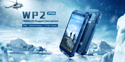 Смартфон Oukitel WP2 4GB/64GB (черный)