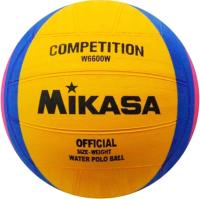 Мяч для водного поло Mikasa W6600W (желтый/синий/розовый) -