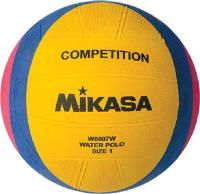 Мяч для водного поло Mikasa W6607W (желтый/синий/розовый, р-р 1) -