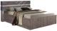Двуспальная кровать Мебель-КМК 1600 Монако 1 0673.3 (сосна натуральная/дуб шато) -