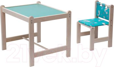 Комплект мебели с детским столом Ника Малыш-2 Утки